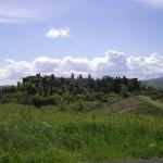 Veduta di Certaldo Alto dove a luglio si svolge Mercantia.